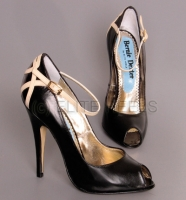High Heels Exclusive Pumps Heels Bernie Dexter Peep Toe
