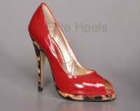 High Heels Exclusive | Pumps | Heels -  Bernie Dexter Edition Peep Toe High Heels  :  high heels pumps 50s rockabilly