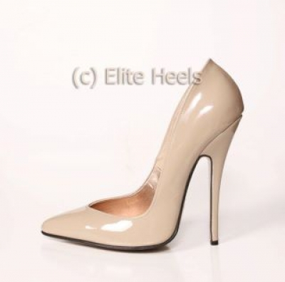 Nude High Heel Pumps | Fs Heel